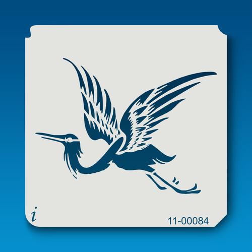 11-00084 Stork Animal Stencil