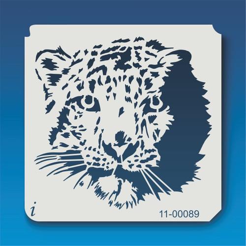 11-00089 Leopard Face