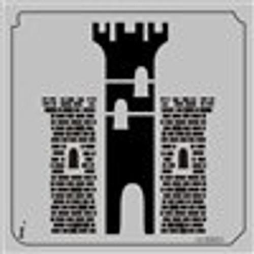 12-00001 Castle Large Stencil