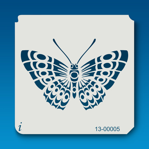 13-00005 Detailed Butterfly 1 Stencil