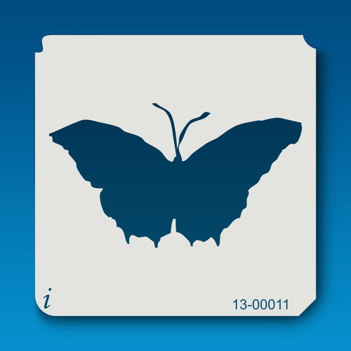 13-00011 butterfly outline stencil