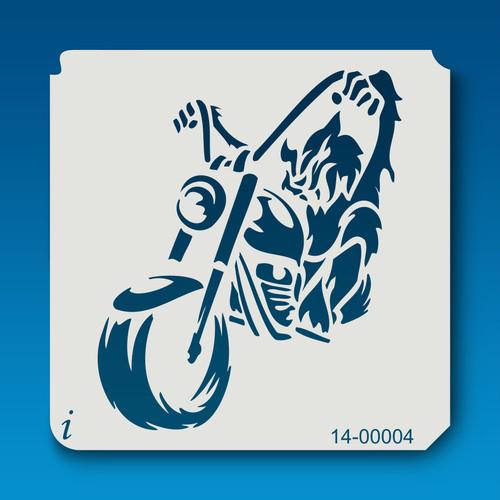 14-00004 Wolfman Motorcyle