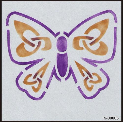 15-00003 Celtic Knot Butterfly Stencil