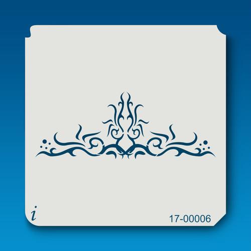 17-00006 tattoo airbrush stencil
