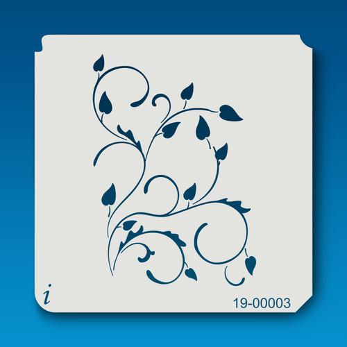 19-00003 Vine Stenciling