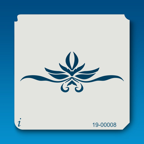19-00008 Leaf Design Stencil