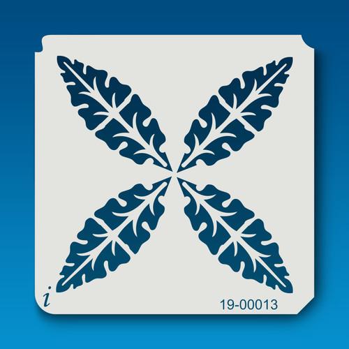 19-00013 Leaf Airbrush Stencil
