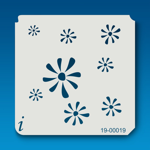 19-00019 Snowflake Flower Stencil