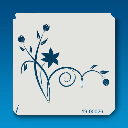 19-00026 Clover Stalk Stencil