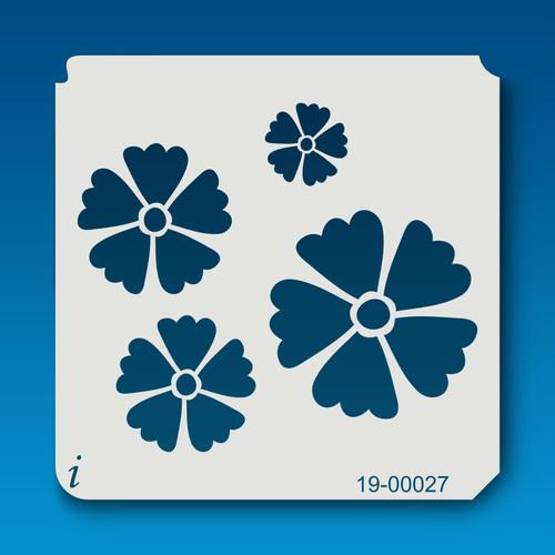 19-00027 Buttercup Flower Stencil