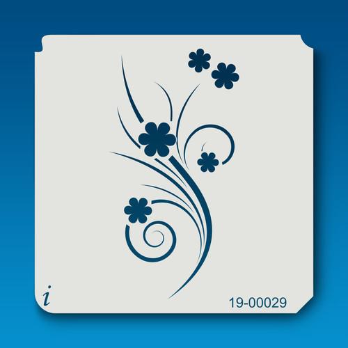 19-00029 Breezy Flower Stencil