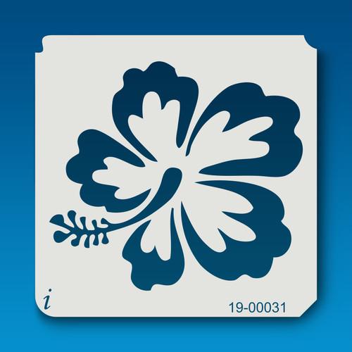 19-00031 Variegated Hibiscus Stencil