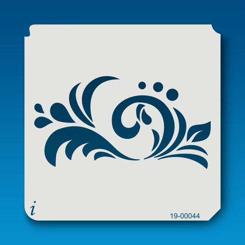 19-00044 Musical Flourish Stencil