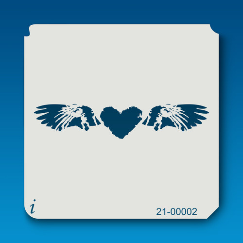 21-00002 heart & wings stencil