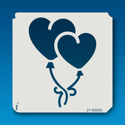 21-00043 Heart Balloons