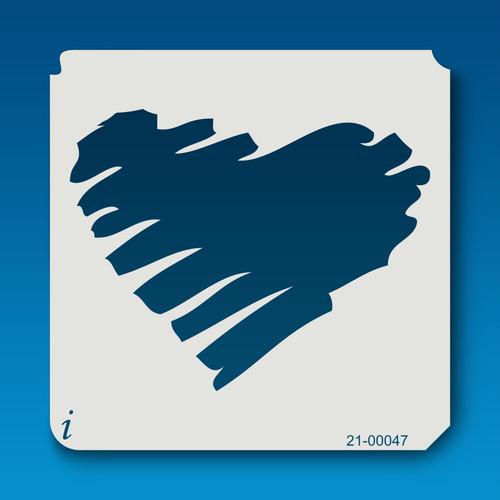 21-00047 Scribble Heart