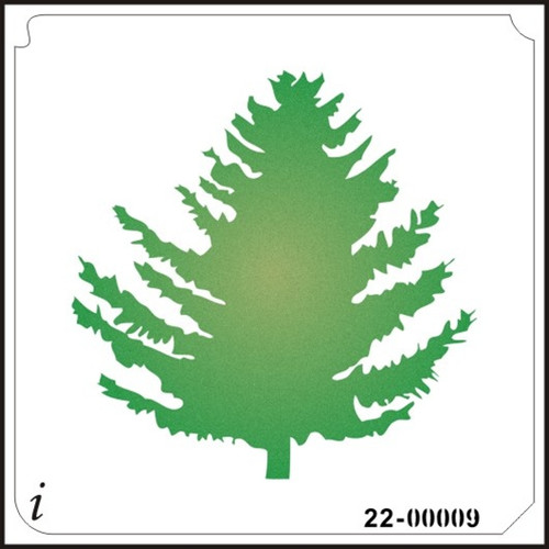 22-00009 Pine Tree Stencil