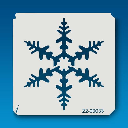 22-00033 Snowflake Silhouette 1 Stencil