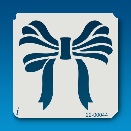 22-00044 Bow Stencil Template