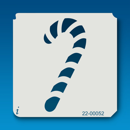 22-00052 Candy Cane Holiday Stencil