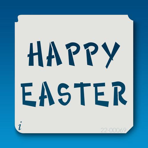 22-00069 happy easter stencil
