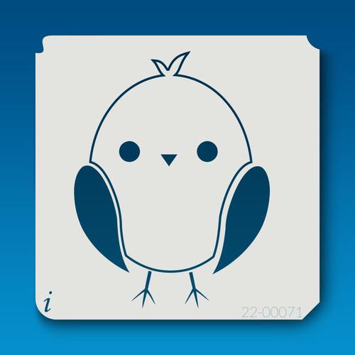 22-00071 baby chick stencil