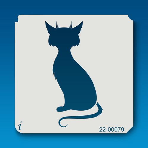 22-00079 Sitting Cat