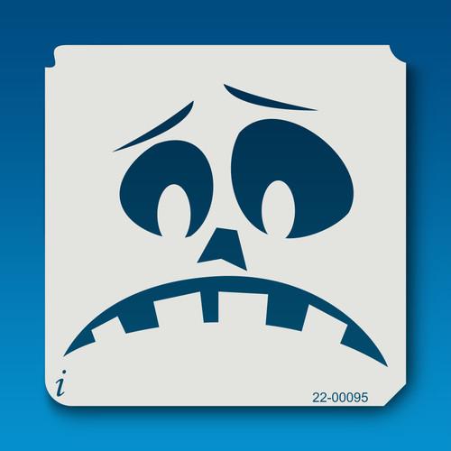 22-00095 Jack O Lantern Face