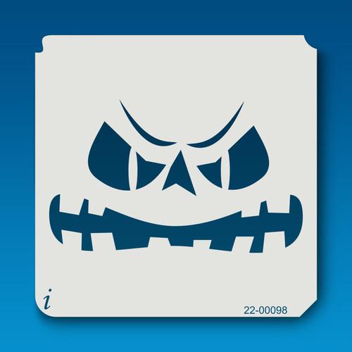 22-00098 Jack O Lantern Face