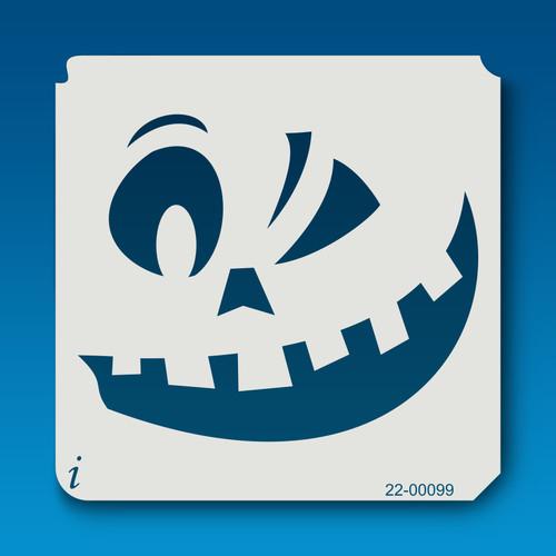 22-00099 Jack O Lantern Face