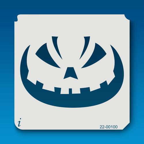 22-00100 Jack O Lantern Face