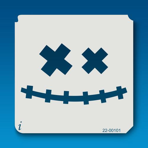 22-00101 Jack O Lantern Face