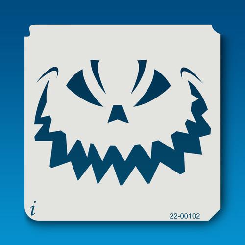 22-00102 Jack O Lantern Face