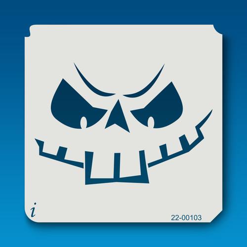 22-00103 Jack O Lantern Face