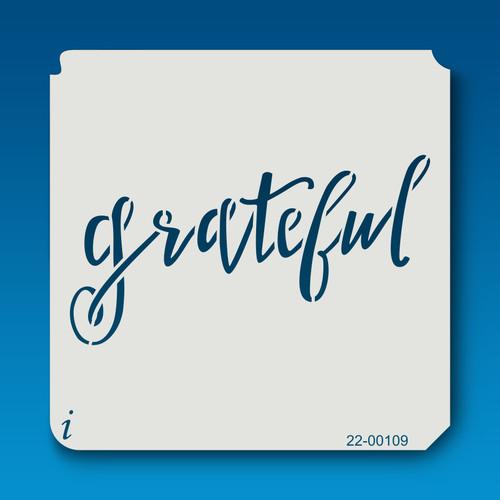 22-00109 - Grateful stencil