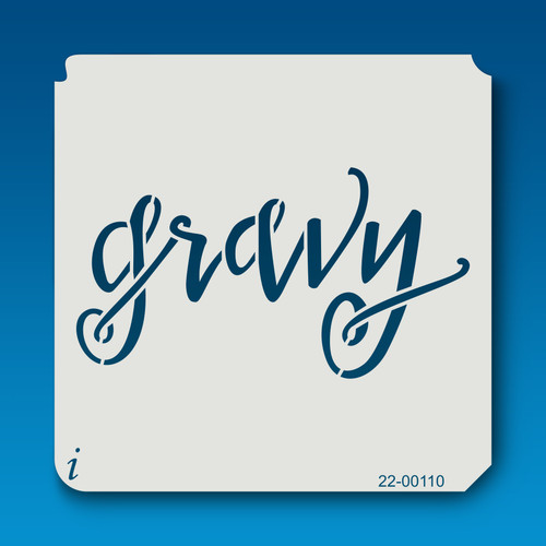 22-00110 - Gravy stencil