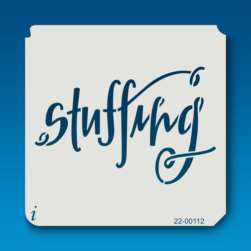 22-00112 Stuffing Stencil