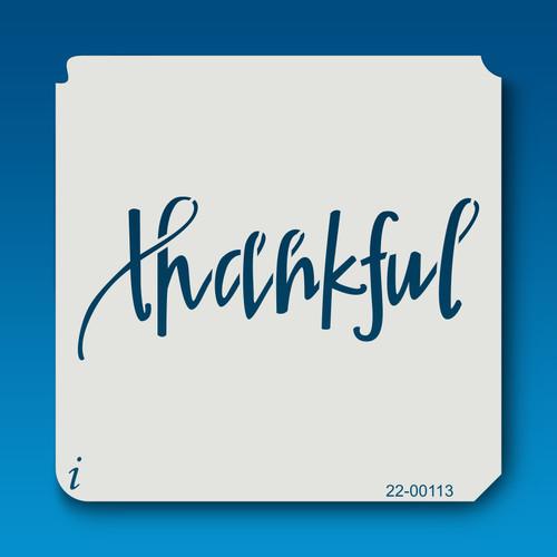 22-00113 Thankful Stencil