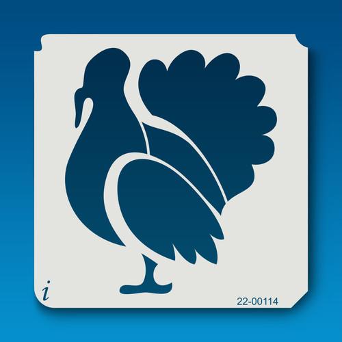 22-00114 Turkey Stencil