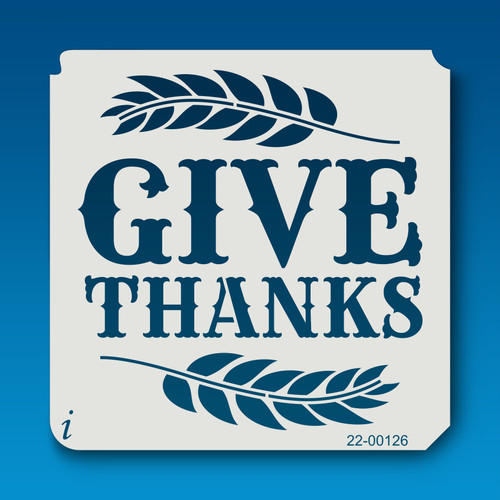 22-00126 Give Thanks Stencil