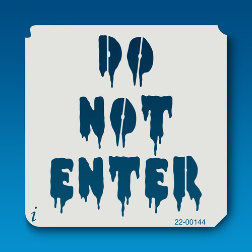 22-00144 Do Not Enter
