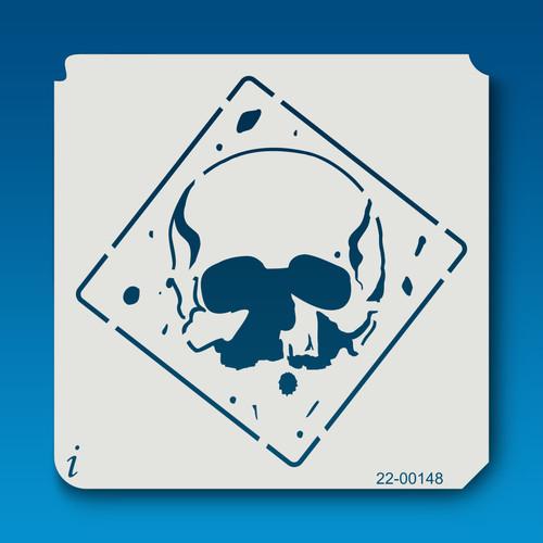 22-00148 Skull Sign