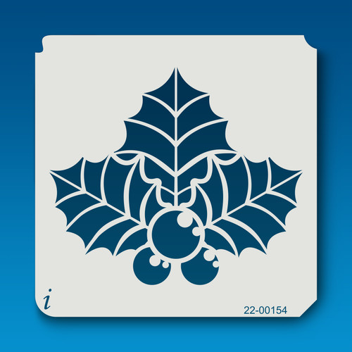 22-00154 Big Leaf Holly Stencil