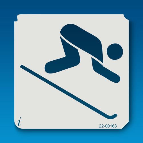 22-00163 Skier