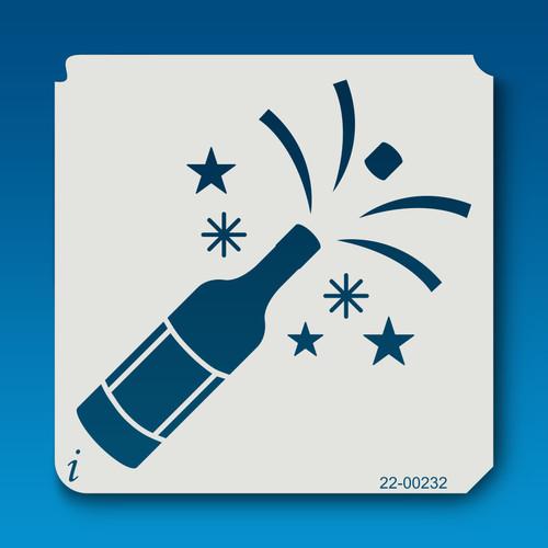 22-00232 Champagne Stencil