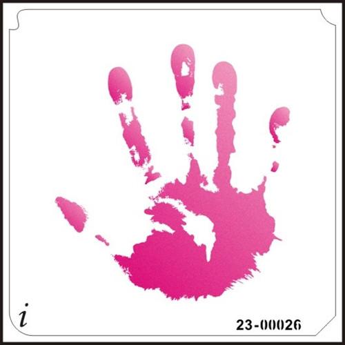 23-00026 Hand Print Large Stencil