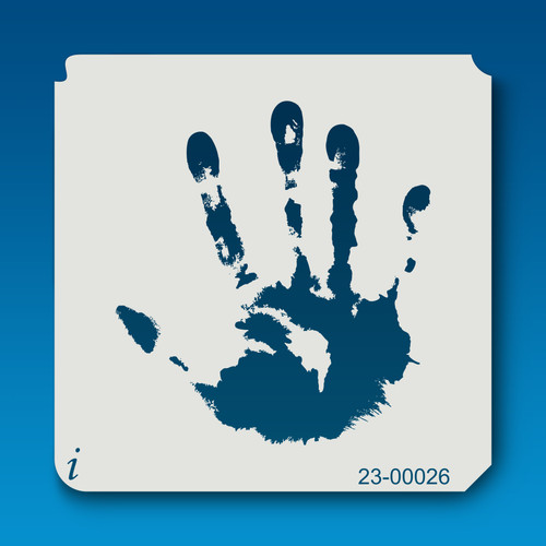 23-00026 Hand Print Large Stencil