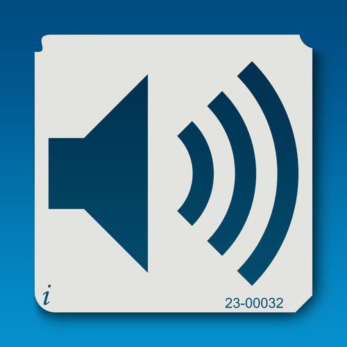 23-00032 Speaker Symbol