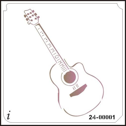 24-00001 Guitar Craft Stencil