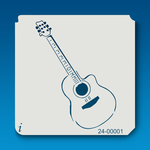24-00001 Guitar Craft Stencil